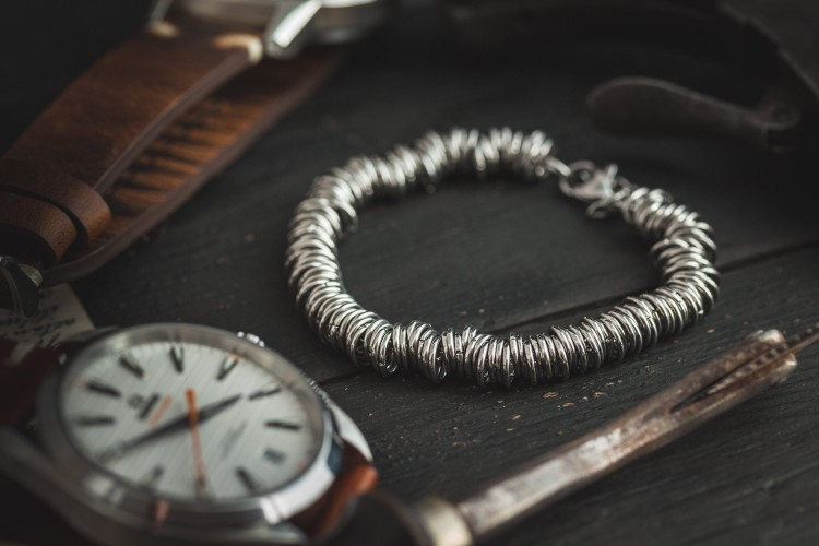Francesco - Stainless steel chain men's bracelet from STRAPSANDBRACELETS