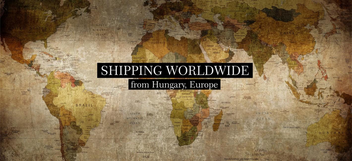 Shipping Worldwide from Hungary, Europe