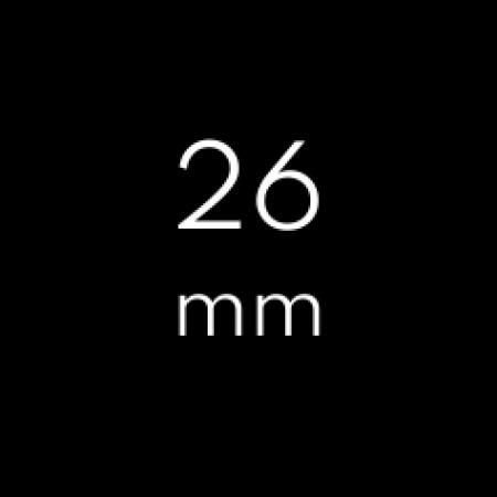 Width: 26mm
